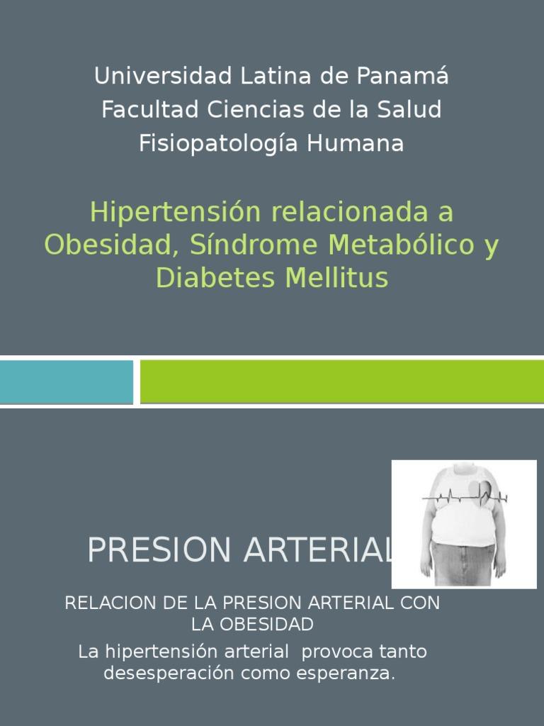 relación entre síndrome metabólico y diabetes mellitus
