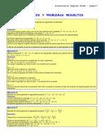 Ecuacion cuadratica