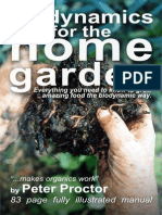 Biodynamics for the home Garden -  Barbara Sumner Burstyn