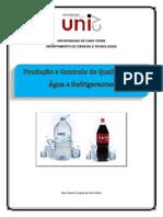 Produção e controlo de qualidade da água e refrigerante