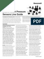 Honeywell Sensing Board Mount Pressure Sensors Line Guide 008152 15 En