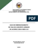 Guia de Dimensionamento de Estruturas de Concreto - VIGA