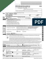 Pa Tax Form - Fd8453pdf