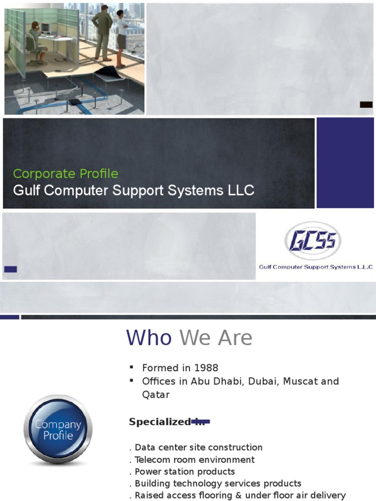 GCSS Corporate Profile Revised | Data Center | Electrical Engineering