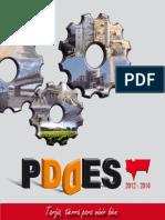 Cartilla Resumen Plan Departamental de Desarrollo Económico y Social de Tarija 2012 - 2016