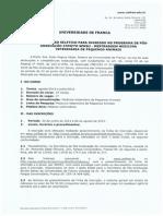 Edital Processo Seletivo Mestrado Vet 2014 2