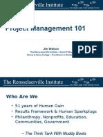 project management 101 - 6-5-15