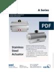AMRI a Series Actuator Technical Information Data