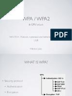 WPA/WPA2 & gpu cracking