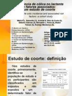 Epidemiologia - Estudo de Coorte