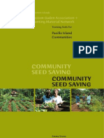 Pacific Community Seed Saving Book