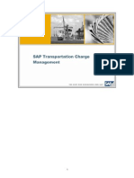 SAP TM - Charge Management