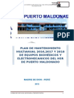 Plan de Mantenimiento Para OPE 2015 MODIFICADO