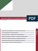 Restructuring Strategic Growth 18.03.10