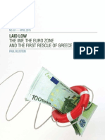 The Imf, The Eurozone and the First Rescue of Greece