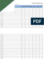 Format Data Murid Penerima RMT Ikut Bangsa Tahun 2015