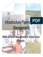 Class 18 - Risk Management in Infrastructure Projects