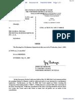 GW Equity LLC et al v. PBS Global Inc et al - Document No. 34