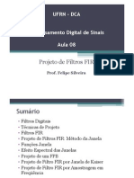 Aula 08 - Projeto de Filtros FIR