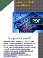 Genetica umană