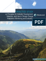 2015 06 Climate-Eval Good-Practice-Study on CCA M&E Indicator Principles