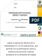 Metodologia 5's. Definitivo