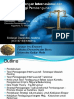 Teori Perdagangan Internasional Dan Strategi Pembangunan