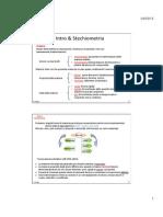 Stechiometria Chimica Generale
