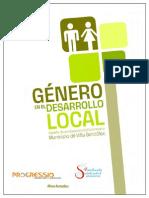 Libro Género en El Desarrollo Local