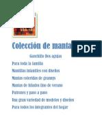 Colección de Mantas Ganchillo y Dos Agujas