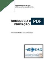 Livro Texto_sociologia Da Educacao