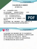 8.-Análisis de 2° Orden (P-Delta)