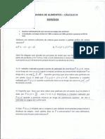 P2 - Cálculo III