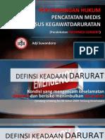 Pertimbangan Hukum Pencatatan Medis Pada Kasus Kegawatdaruratan(1)