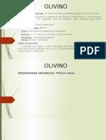 Presentación olivino