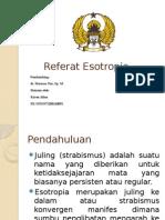 Referat Esotropia
