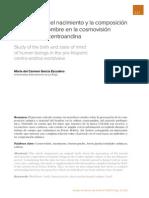 Estudio Sobre el Nacimiento y la Composición Animica del Hombre en la Cosmovisión Prehispánica Centroandina