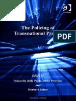 Donatella Della Porta, Abby Peterson, Herbert Reiter-The Policing of Transnational Protest-Ashgate Pub Co (2006)