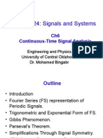 Ch6 Fourier Series
