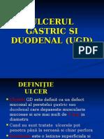 1) Ulcerul Gastroduodenal - Ppt