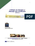 Trabajo en Equipo y Manejo de Conflictos (16 Hrs.)