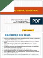 1) Introduccion de Minado Superficial