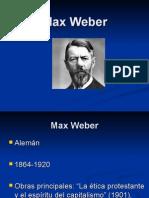 Max Weber I