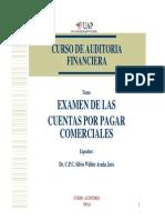 Examen de Las Cuentas Por Pagar Comerciales