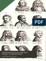 17Dictionnaire Universel, Historique, Critique, Et Bibliographique17