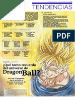 ¿Qué tanto recuerda del universo de Dragon Ball?