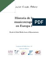 Historia de La Musicoterapia en Europa I - Desde La Edad Media Hasta El Renacimiento