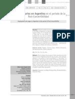 Empleo y Salarios en Argentina