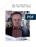 Interviewing the Interviewer_HANS ULRICH OBRIST