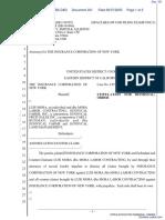 The Insurance Co. v. Mora, et al - Document No. 331